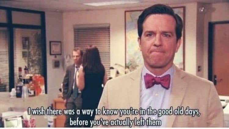 ANDY BERNARD'S LAST WORDS FROM THE OFFICE