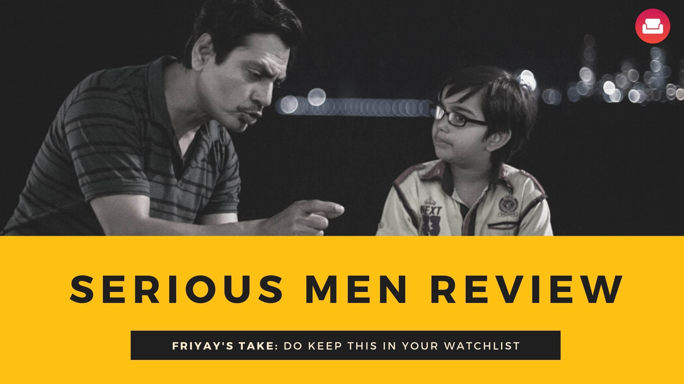 serious men review netflix
