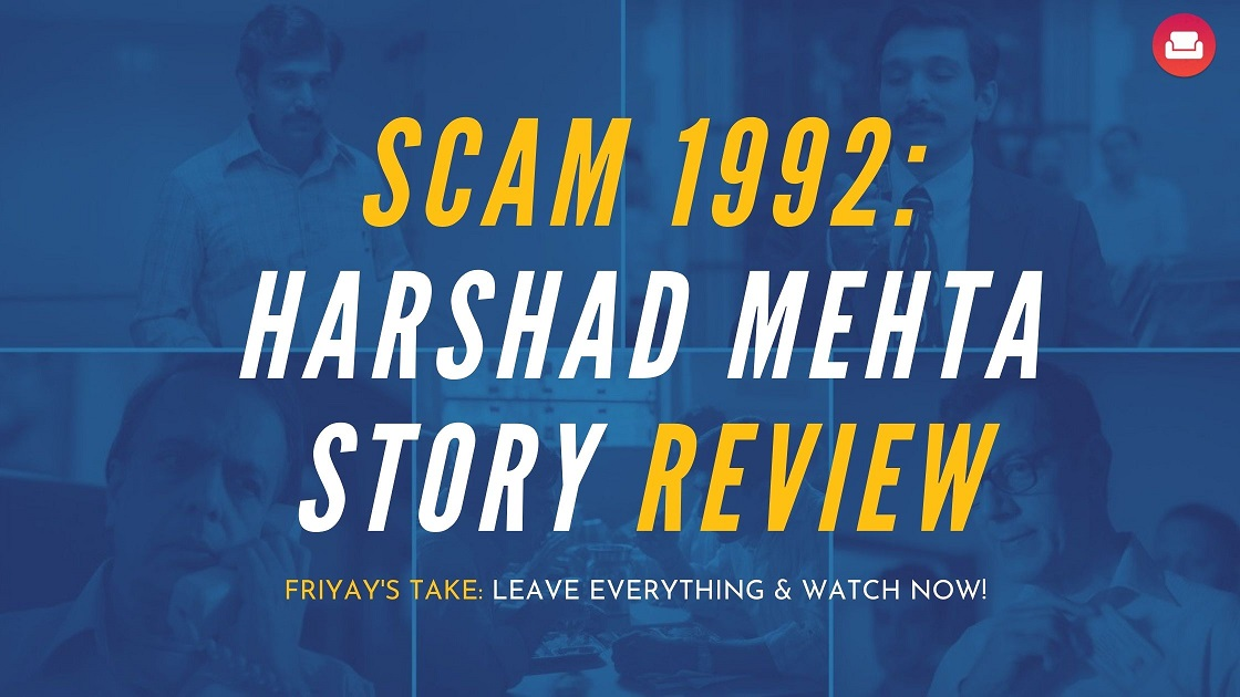 scam 1992 Harshad mehta poster
